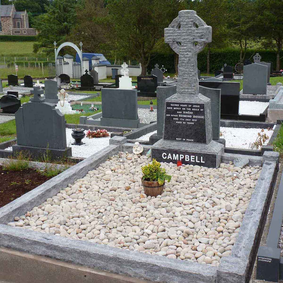 McGovern Memorial Celtic Cross Memorials