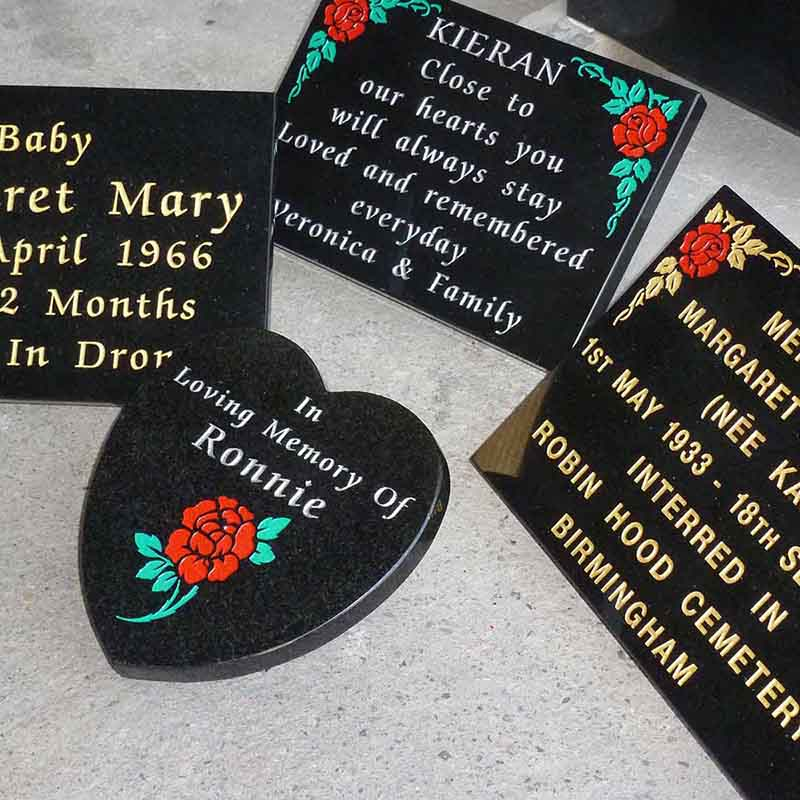 McGovern Memorial Grave Accessories