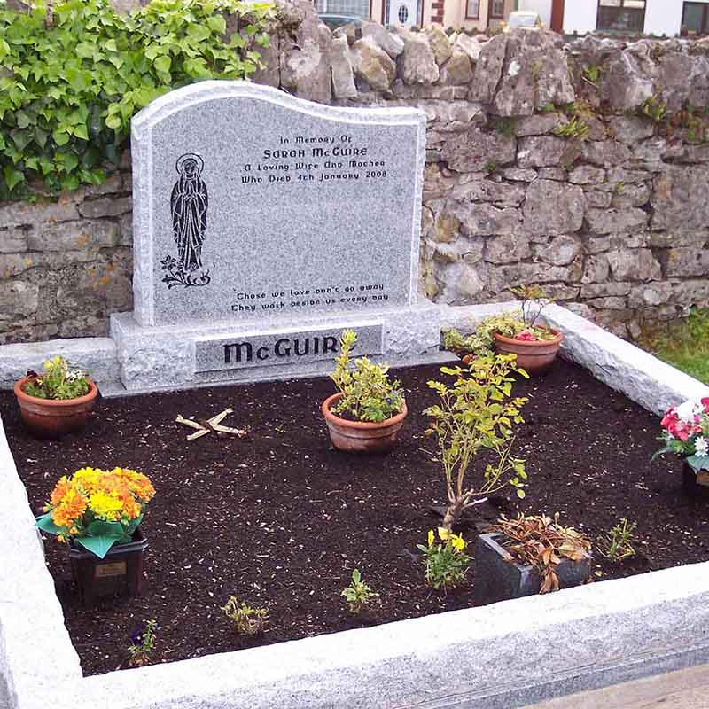 McGovern Memorial Headstone and Surrounds